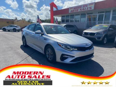 2020 Kia Optima for sale at Modern Auto Sales in Hollywood FL