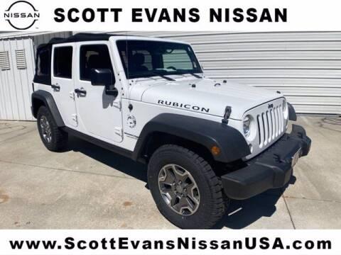 2018 Jeep Wrangler JK Unlimited for sale at Scott Evans Nissan in Carrollton GA