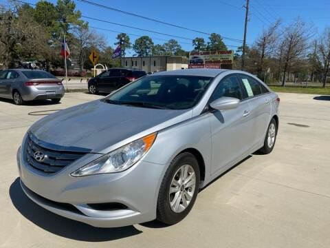 2013 Hyundai Sonata for sale at Auto Land Of Texas in Cypress TX