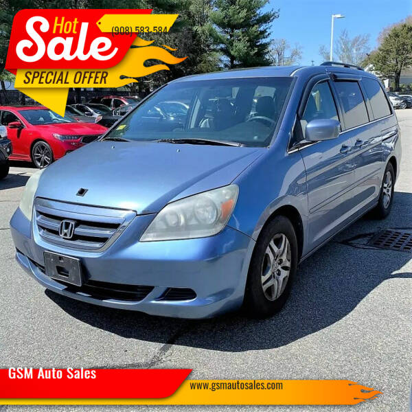 2005 Honda Odyssey for sale at GSM Auto Sales in Linden NJ