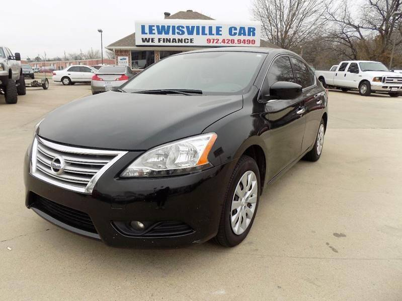 2014 Nissan Sentra for sale at Lewisville Car in Lewisville TX