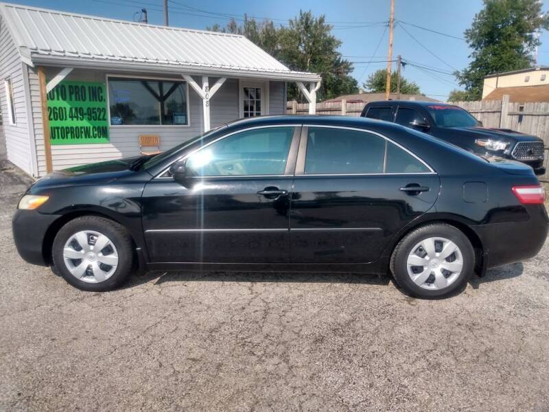 2009 Toyota Camry for sale at Auto Pro Inc in Fort Wayne IN