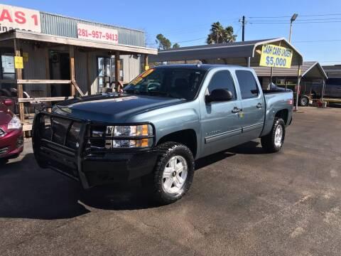2010 Chevrolet Silverado 1500 for sale at Texas 1 Auto Finance in Kemah TX