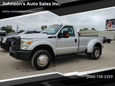 2012 Ford F-350 Super Duty for sale at Johnson's Auto Sales Inc. in Decatur IN