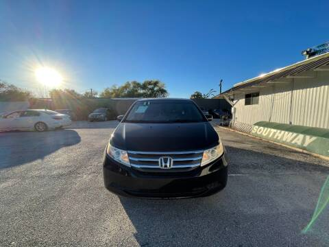 2011 Honda Odyssey for sale at SOUTHWAY MOTORS in Houston TX