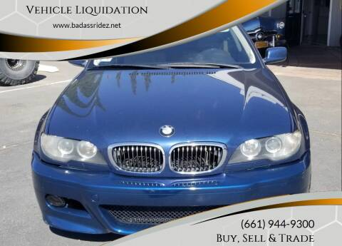 2005 BMW 3 Series for sale at Vehicle Liquidation in Littlerock CA