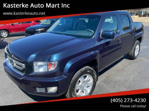 2010 Honda Ridgeline for sale at Kasterke Auto Mart Inc in Shawnee OK