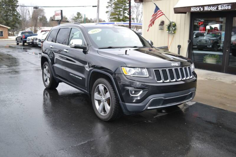 2015 Jeep Grand Cherokee for sale at Nick's Motor Sales LLC in Kalkaska MI