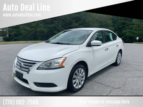 2013 Nissan Sentra for sale at Auto Deal Line in Alpharetta GA