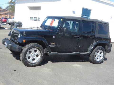 2014 Jeep Wrangler Unlimited for sale at Price Auto Sales 2 in Concord NH