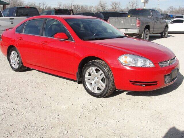 2012 Chevrolet Impala for sale at Frieling Auto Sales in Manhattan KS