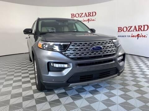 2021 Ford Explorer Hybrid for sale at BOZARD FORD in Saint Augustine FL