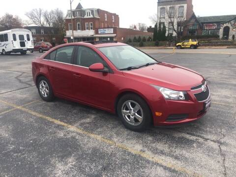 2014 Chevrolet Cruze for sale at DC Auto Sales Inc in Saint Louis MO