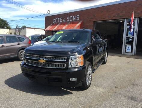 2013 Chevrolet Silverado 1500 for sale at Cote & Sons Automotive Ctr in Lawrence MA