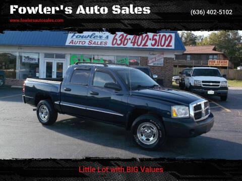 2006 Dodge Dakota for sale at Fowler's Auto Sales in Pacific MO