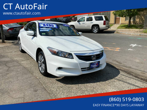 2012 Honda Accord for sale at CT AutoFair in West Hartford CT