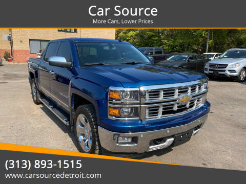 2015 Chevrolet Silverado 1500 for sale at Car Source in Detroit MI