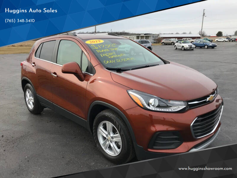 2019 Chevrolet Trax for sale at Huggins Auto Sales in Hartford City IN