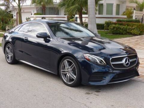 2018 Mercedes-Benz E-Class for sale at Lifetime Automotive Group in Pompano Beach FL