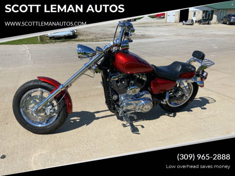 2014 HARLEY DAVIDSON XL1200 for sale at SCOTT LEMAN AUTOS in Goodfield IL