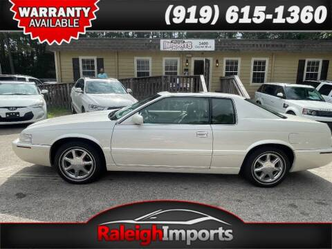 2000 Cadillac Eldorado for sale at Raleigh Imports in Raleigh NC