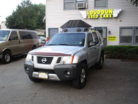 2012 Nissan Xterra for sale at Loudoun Used Cars in Leesburg VA