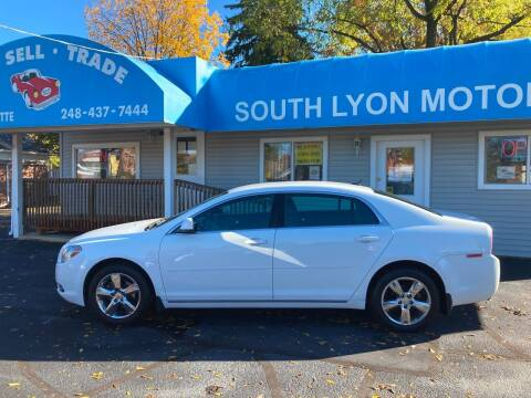 2011 Chevrolet Malibu for sale at South Lyon Motors INC in South Lyon MI