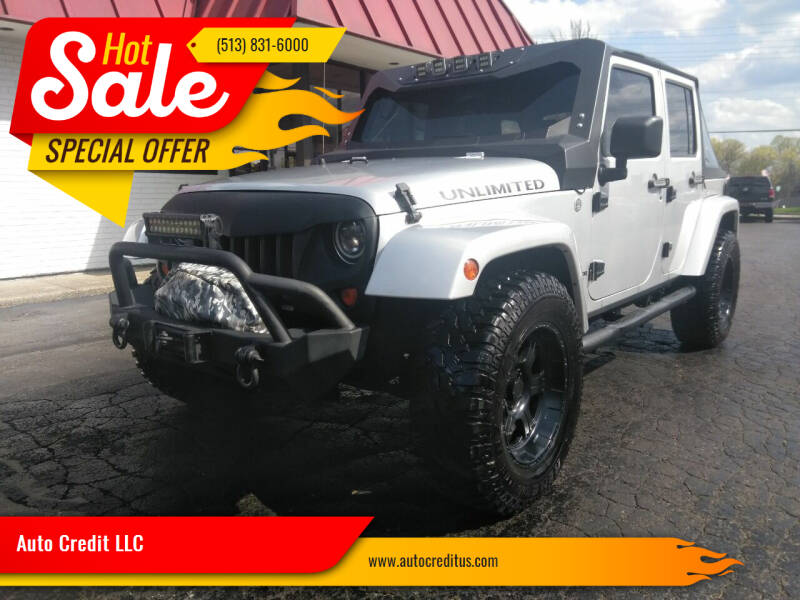 2007 Jeep Wrangler Unlimited for sale at Auto Credit LLC in Milford OH