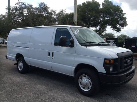 2014 Ford E-Series Cargo for sale at Tropical Motors Cargo Vans and Car Sales Inc. in Pompano Beach FL