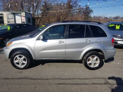 2002 Toyota RAV4 for sale at Howe's Auto Sales in Lowell MA