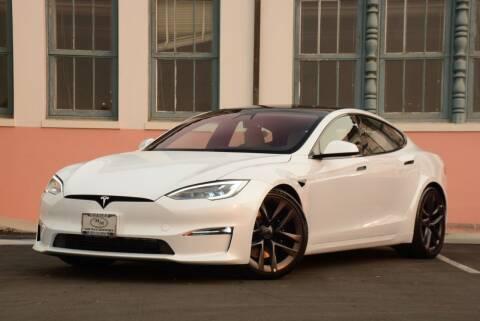 2021 Tesla Model S for sale at Milpas Motors in Santa Barbara CA