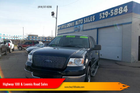 2005 Ford F-150 for sale at Highway 100 & Loomis Road Sales in Franklin WI