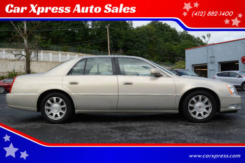 2009 Cadillac DTS for sale at Car Xpress Auto Sales in Pittsburgh PA