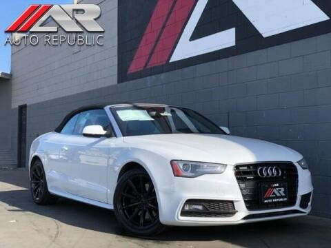 2015 Audi A5 for sale at Auto Republic Fullerton in Fullerton CA