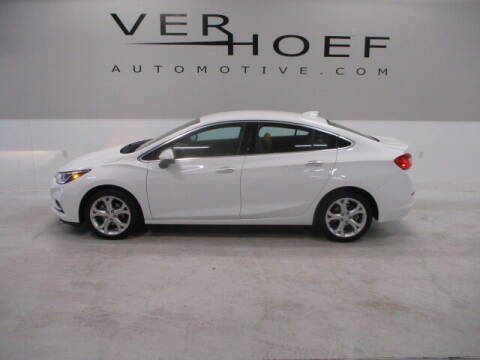 2017 Chevrolet Cruze for sale at Ver Hoef Automotive Inc in Sioux Center IA
