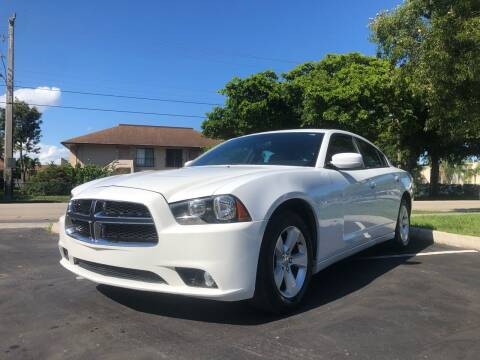 2014 Dodge Charger for sale at Motor Trendz Miami in Hollywood FL