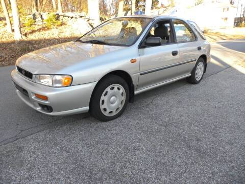 1999 Subaru Impreza for sale at STURBRIDGE CAR SERVICE CO in Sturbridge MA