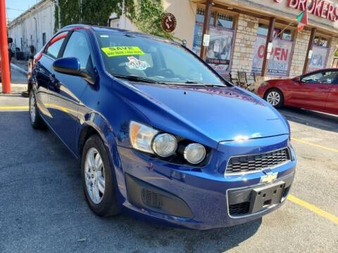 2013 Chevrolet Sonic for sale at USA Auto Brokers in Houston TX