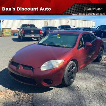 2006 Mitsubishi Eclipse for sale at Dan's Discount Auto in Gaston SC