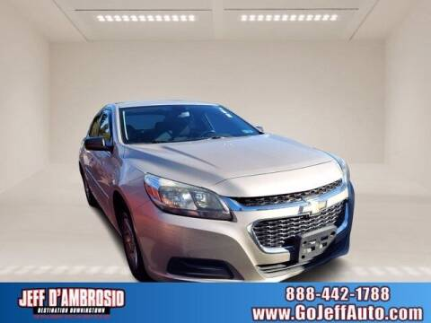 2015 Chevrolet Malibu for sale at Jeff D'Ambrosio Auto Group in Downingtown PA