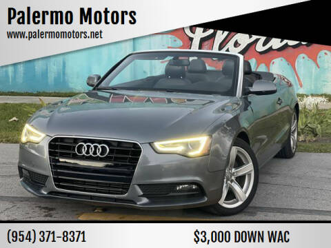 2014 Audi A5 for sale at Palermo Motors in Hollywood FL