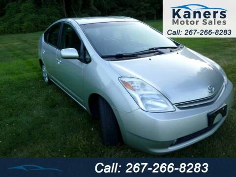 2005 Toyota Prius for sale at Kaners Motor Sales in Huntingdon Valley PA