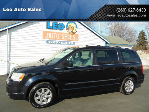 2010 Chrysler Town and Country for sale at Leo Auto Sales in Leo IN