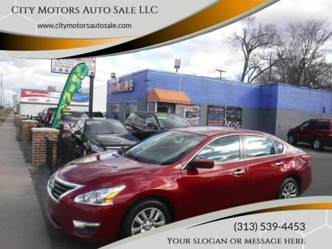 2014 Nissan Altima for sale at City Motors Auto Sale LLC in Redford MI