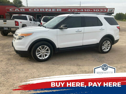 2015 Ford Explorer for sale at CAR CORNER in Van Buren AR