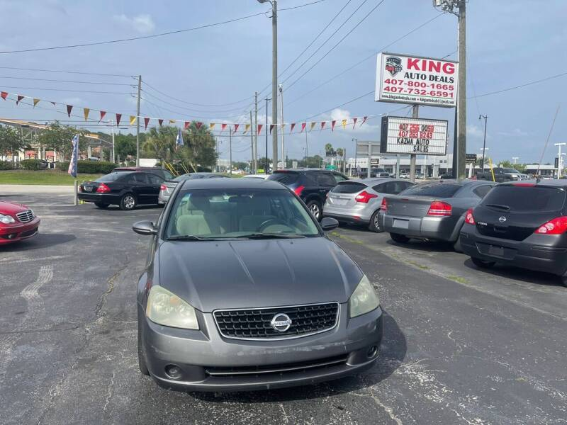 2005 Nissan Altima for sale at King Auto Deals in Longwood FL