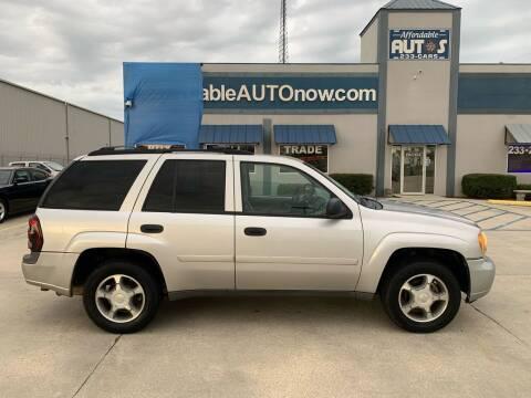 2008 Chevrolet TrailBlazer for sale at Affordable Autos in Houma LA