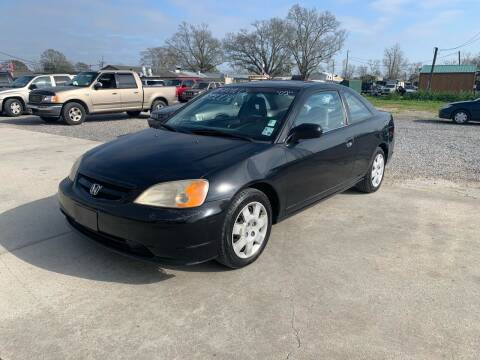2002 Honda Civic for sale at Bayou Motors Inc in Houma LA