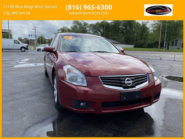 2008 Nissan Maxima for sale at Kansas City Motors in Kansas City MO