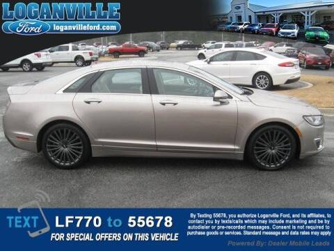 2018 Lincoln MKZ Hybrid for sale at Loganville Quick Lane and Tire Center in Loganville GA